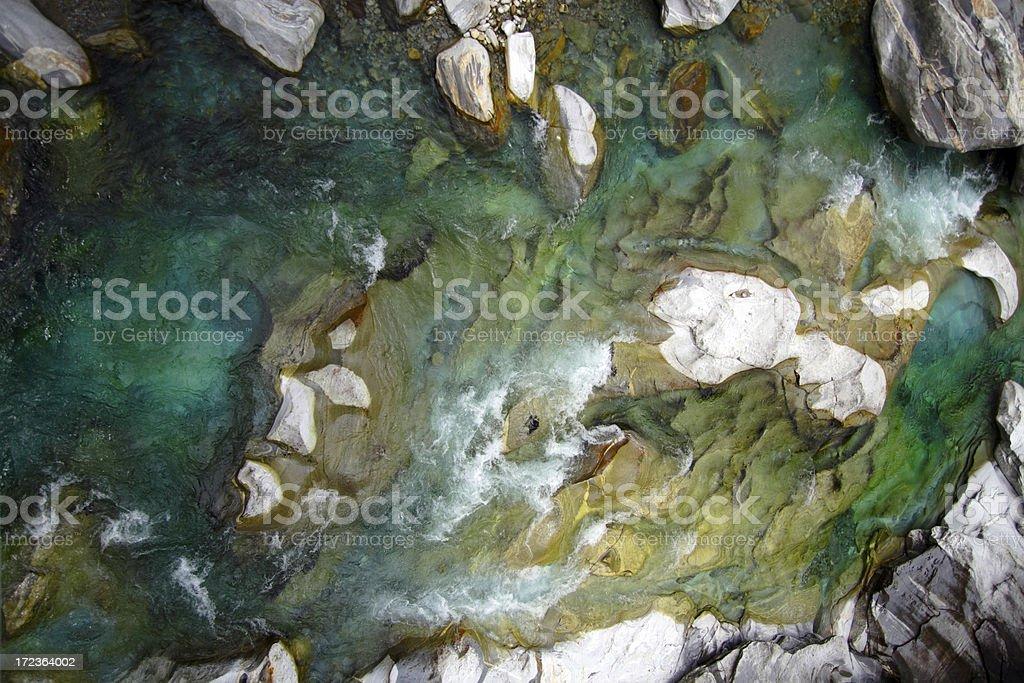 Background - Verzasca River royalty-free stock photo
