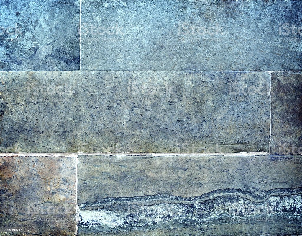 Background wall of stone blocks royalty-free stock photo