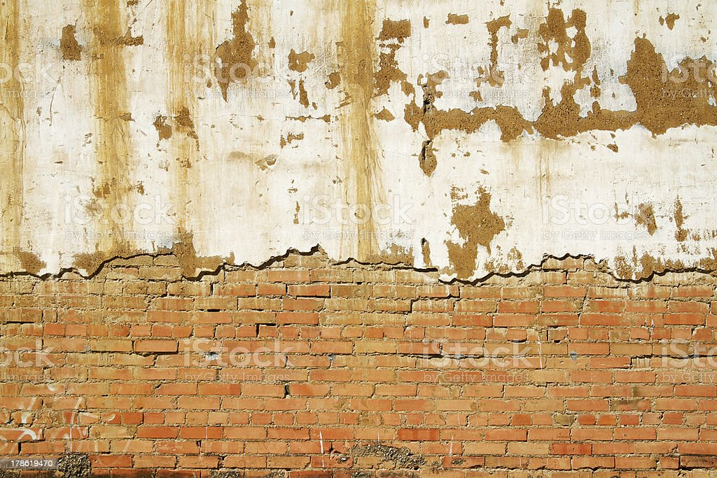 Background Wall Texture of an old section facade royalty-free stock photo