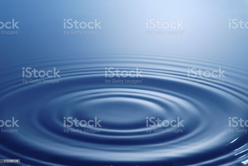 Background - water rings royalty-free stock photo