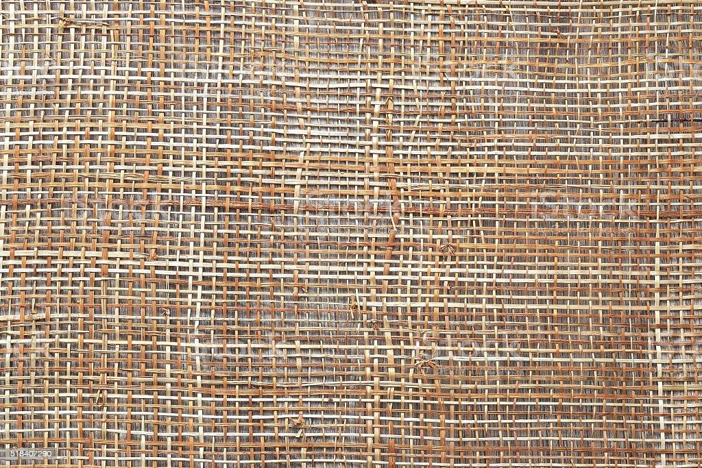 background wicker matting stock photo
