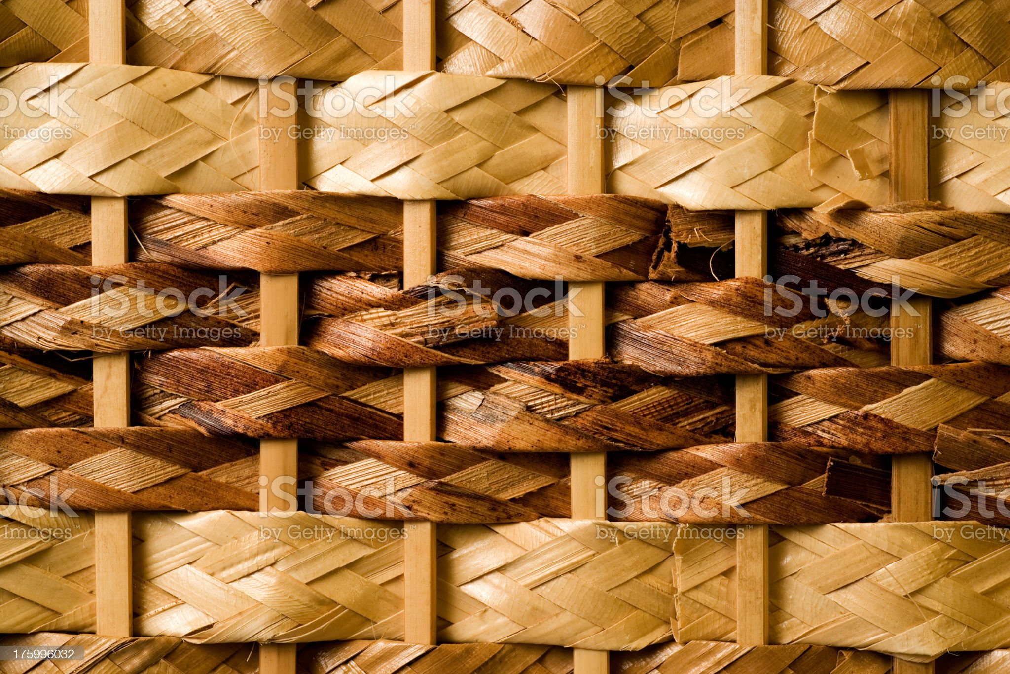 Background - Wicker royalty-free stock photo