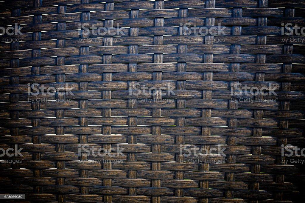 Background wicker texture stock photo