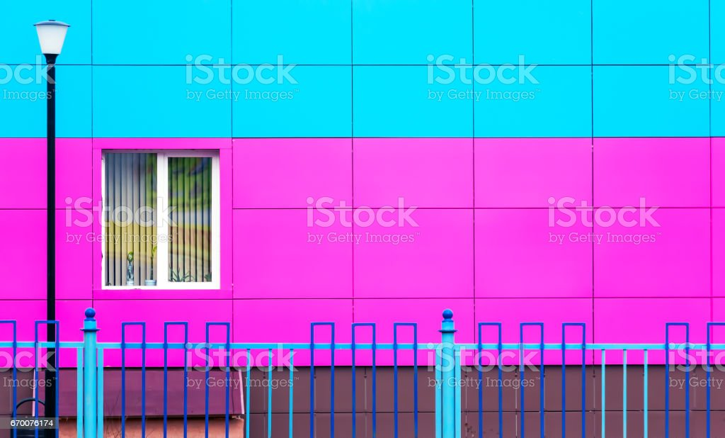 Background with a lantern and a window stock photo