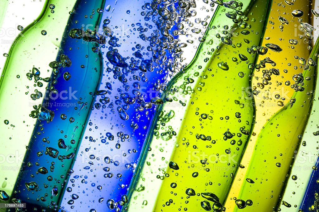 Background with bottle royalty-free stock photo