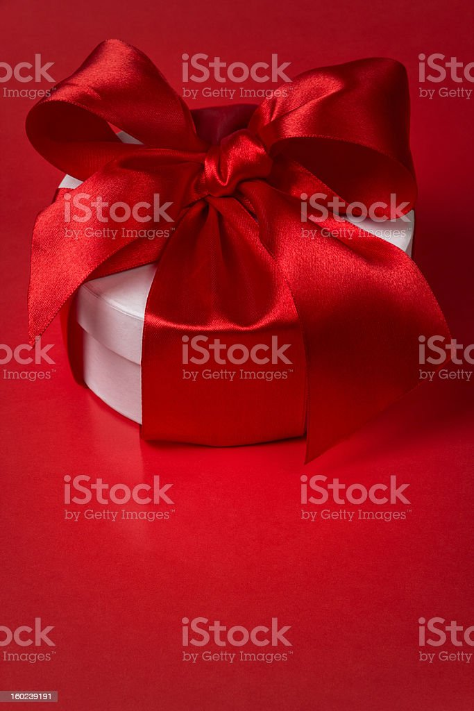 background with gift box royalty-free stock photo