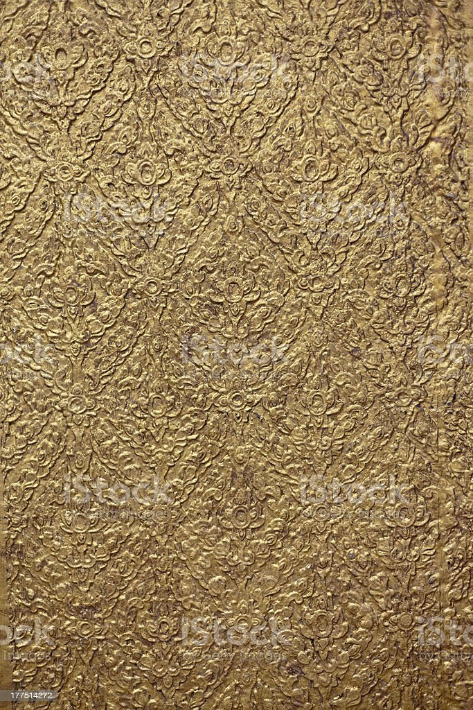 background with golden patterns royalty-free stock photo