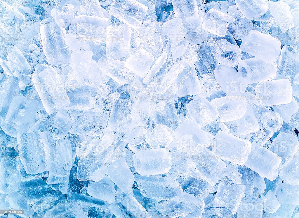 background with ice cubes stock photo