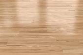 Background with light wood parquet floor
