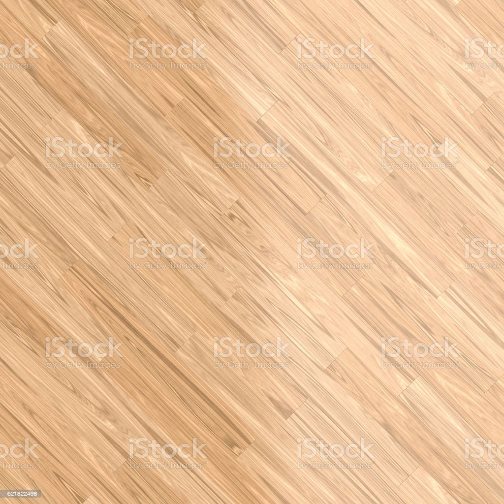 Background with light wood parquet floor stock photo