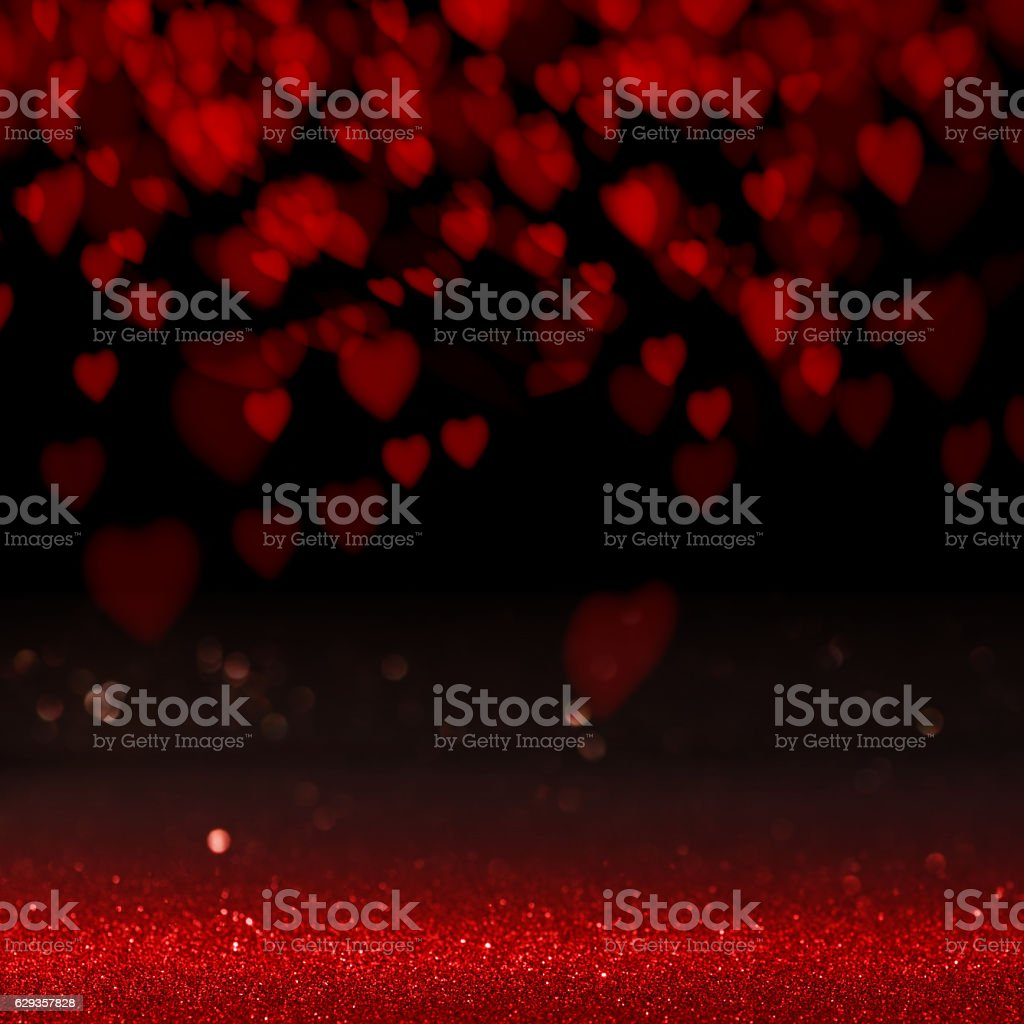 Background with love heart stock photo