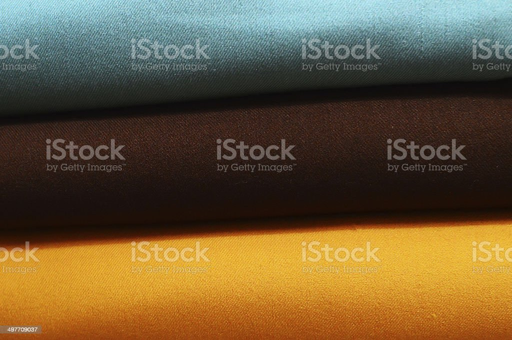 background with materials in tissue tailors many colors stock photo