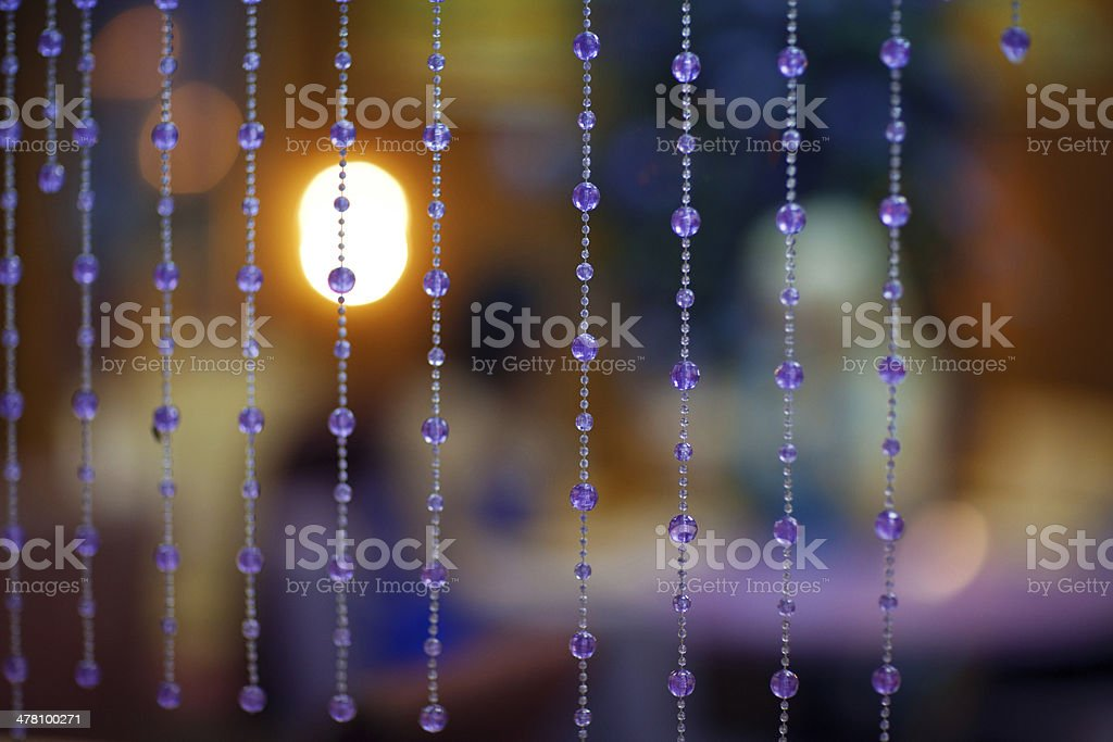 background with pendents royalty-free stock photo