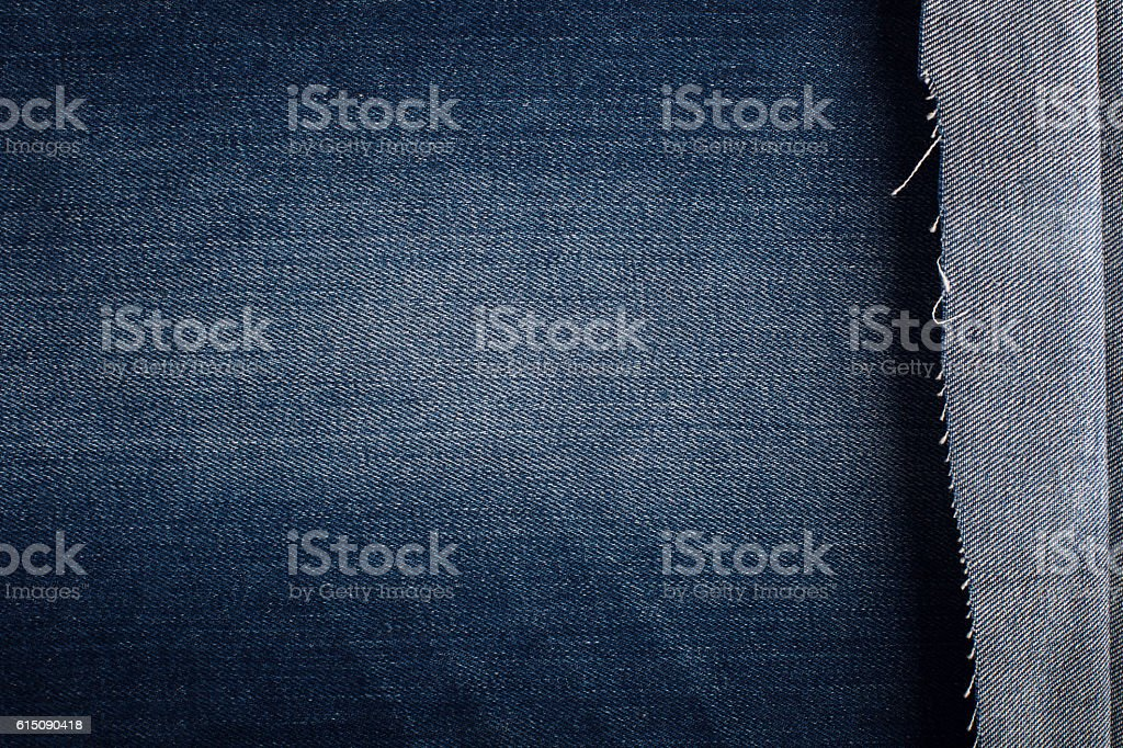 Background with texture of blue denim stock photo