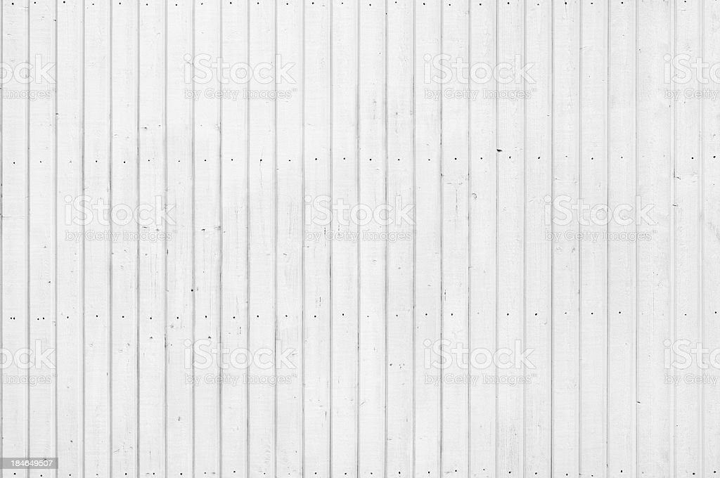 Background: wood panelling painted white stock photo