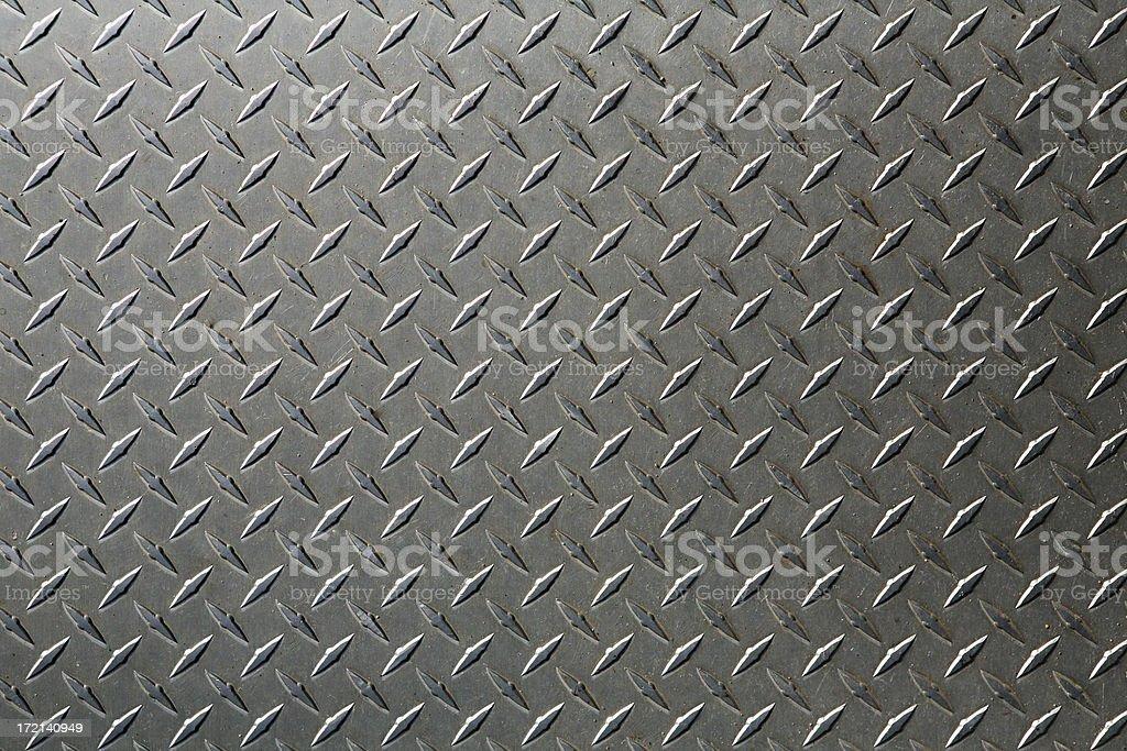 background: XL diamond plate royalty-free stock photo