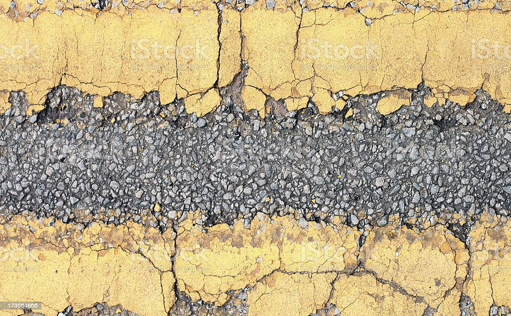 Background - Yellow Lines royalty-free stock photo