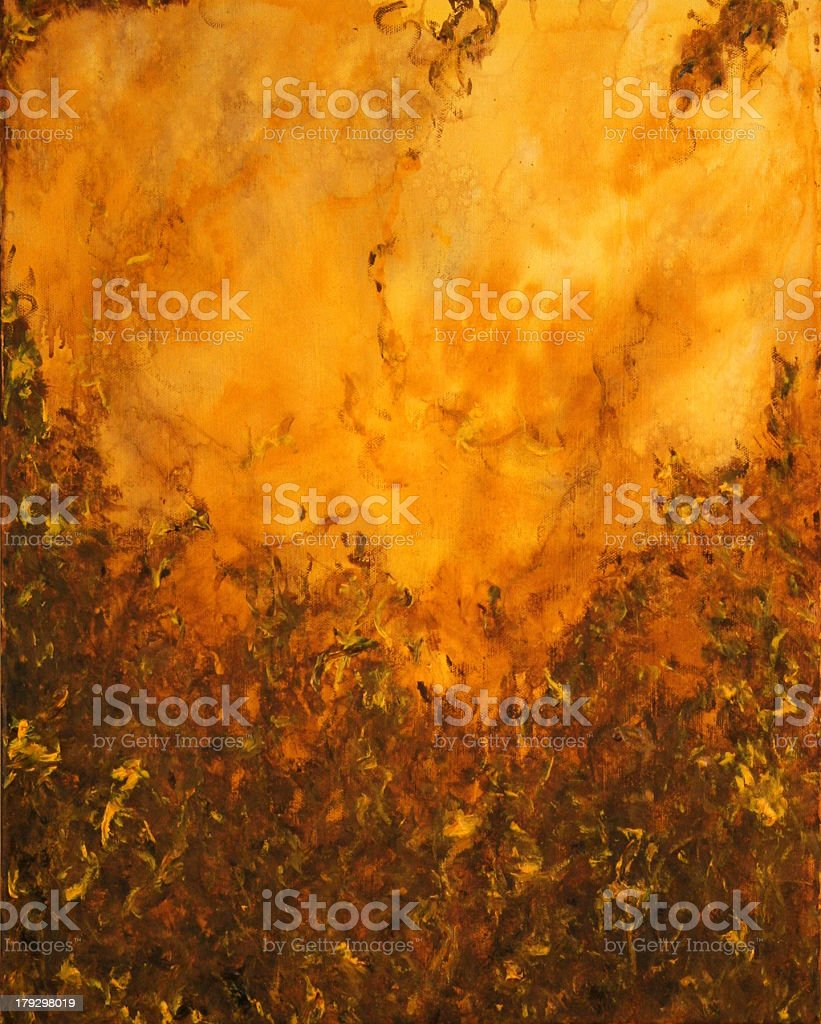 Background Yellow Tones 1 royalty-free stock photo