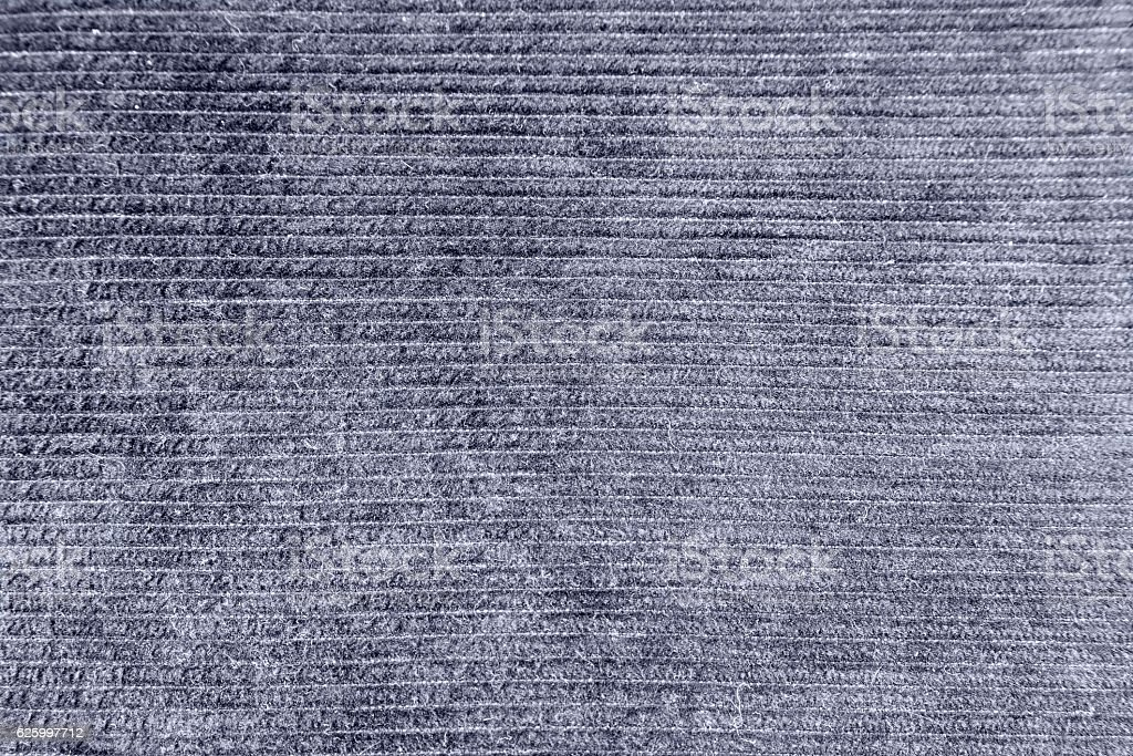 Backgrounds and effects color corduroy fabric stock photo