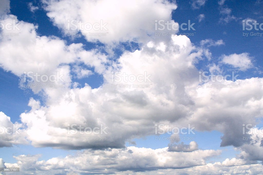 Backgrounds: Clouds 2 royalty-free stock photo