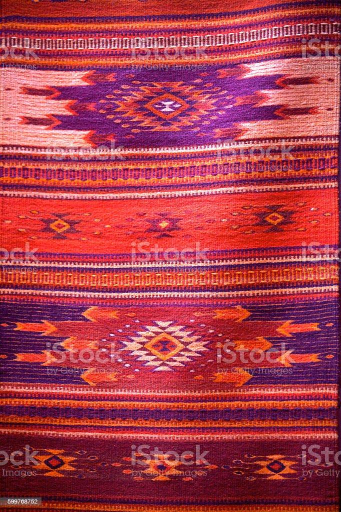 Backgrounds of Textile Zarape stock photo