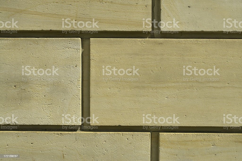 Backgrounds: Sandstone Wall royalty-free stock photo