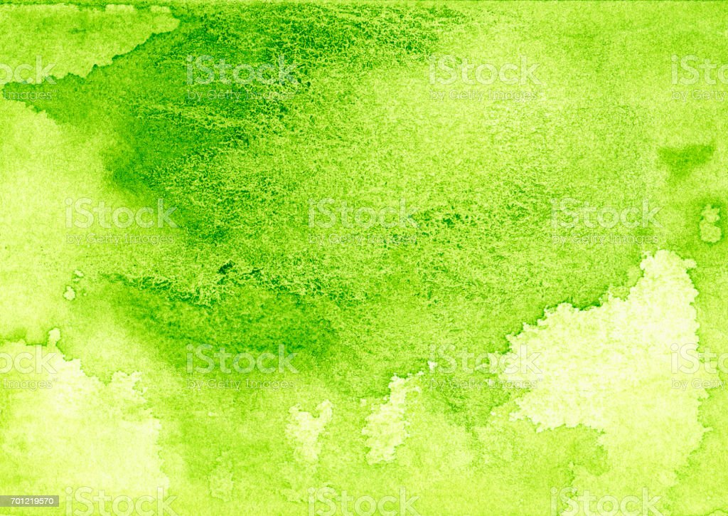 Backgrounds Watercolor Painting Green Abstract Texture
