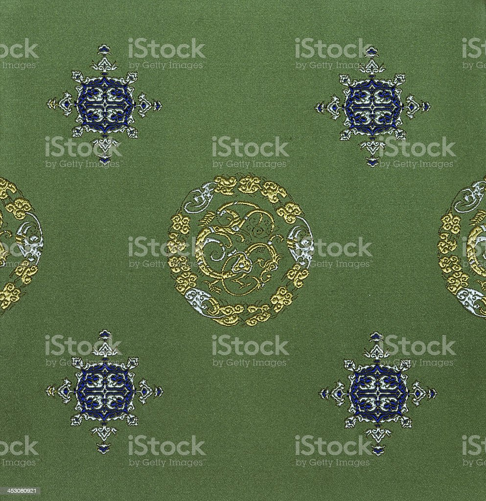 backgrounds-embroidery of chinese style stock photo