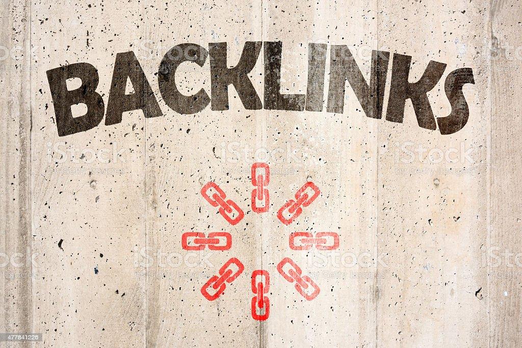 Backlink stock photo