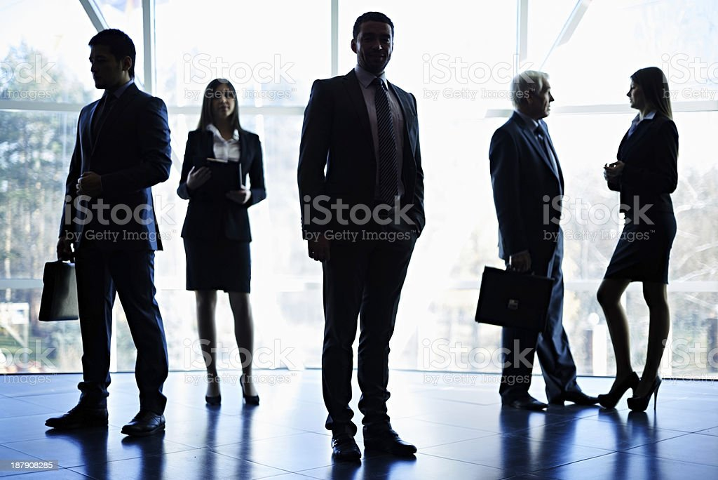 Backlit business royalty-free stock photo