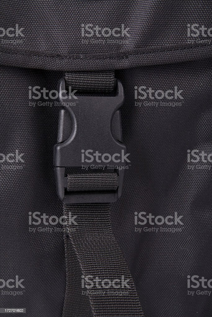 Backpack close up stock photo