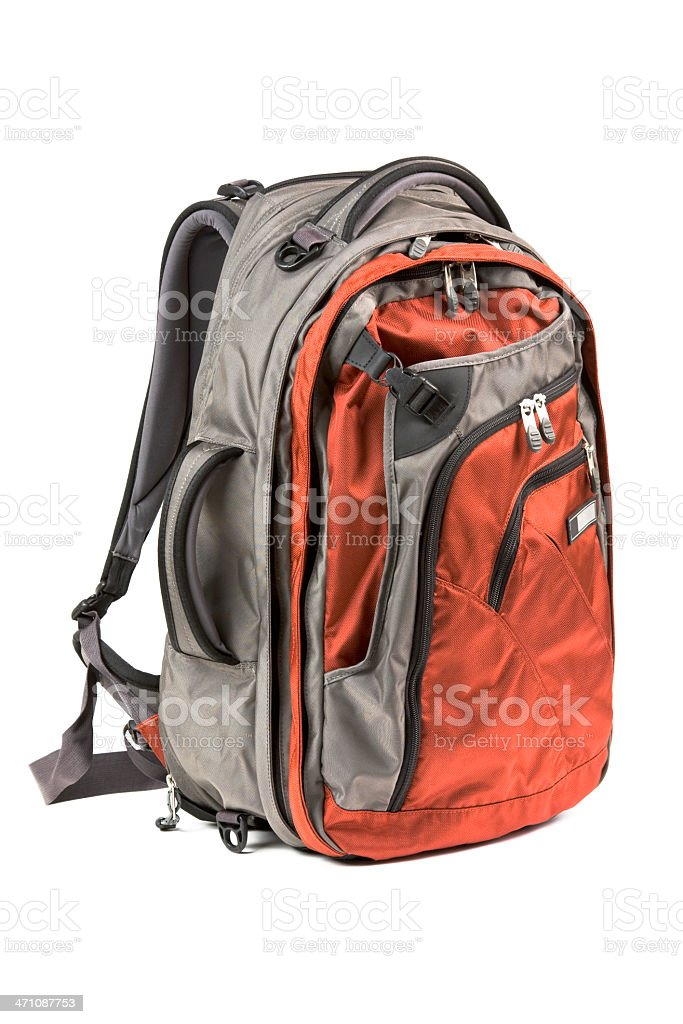 Backpack royalty-free stock photo
