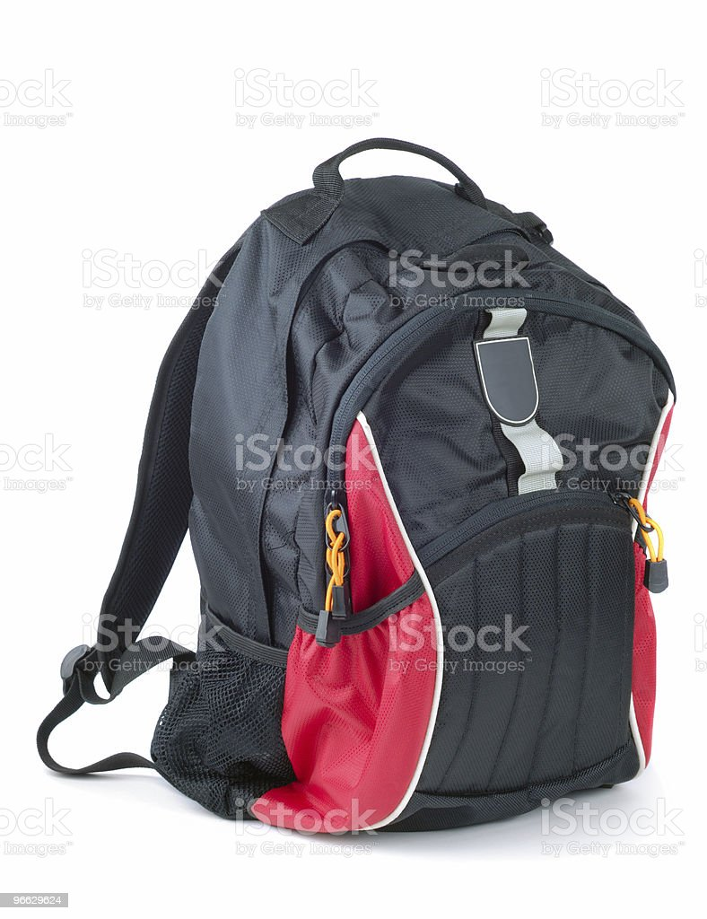 Backpack stock photo