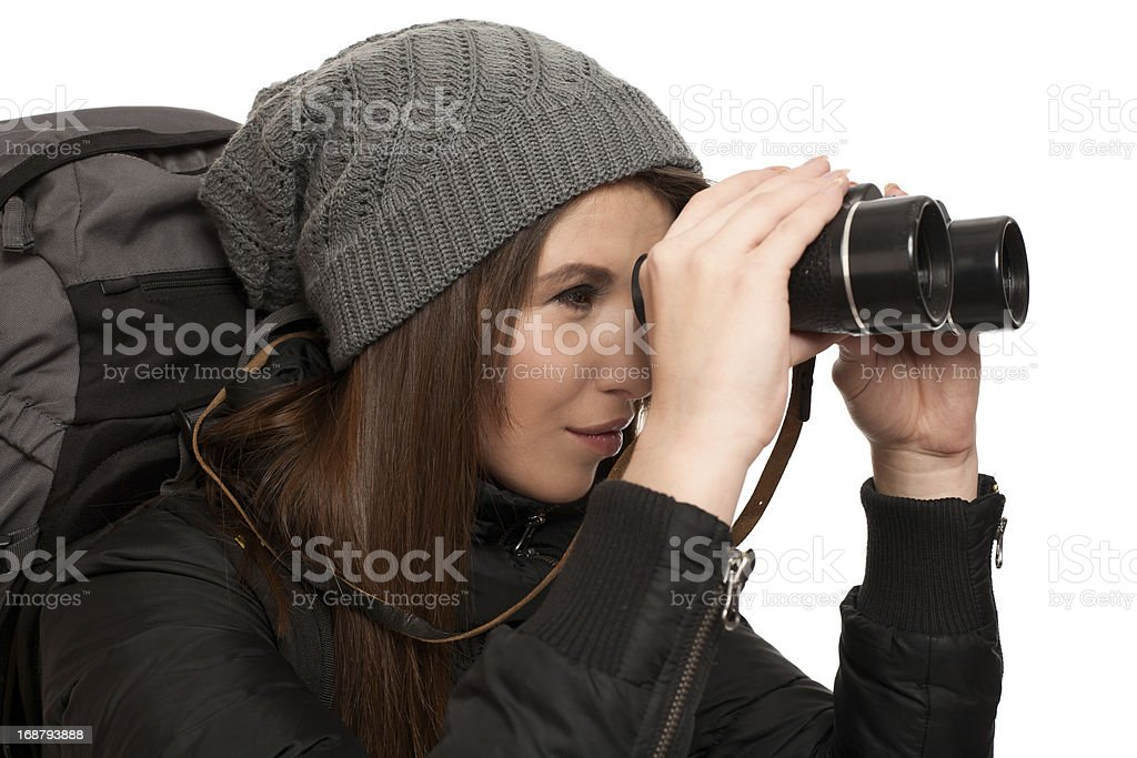 Backpacker - Recreation stock photo