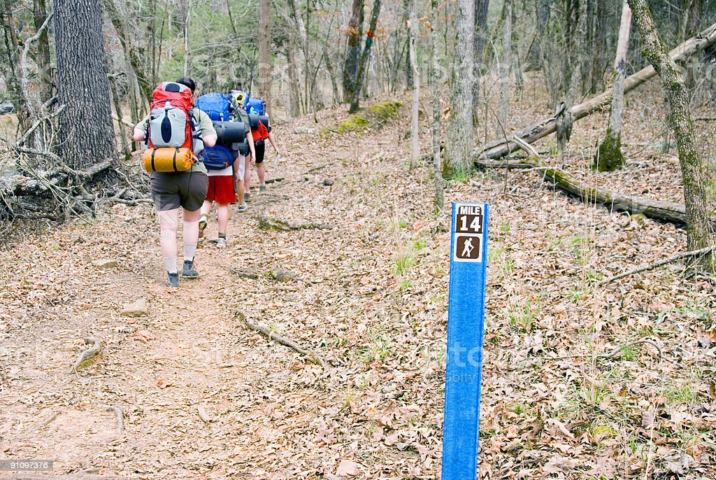 Wanderer#2 Lizenzfreies stock-foto