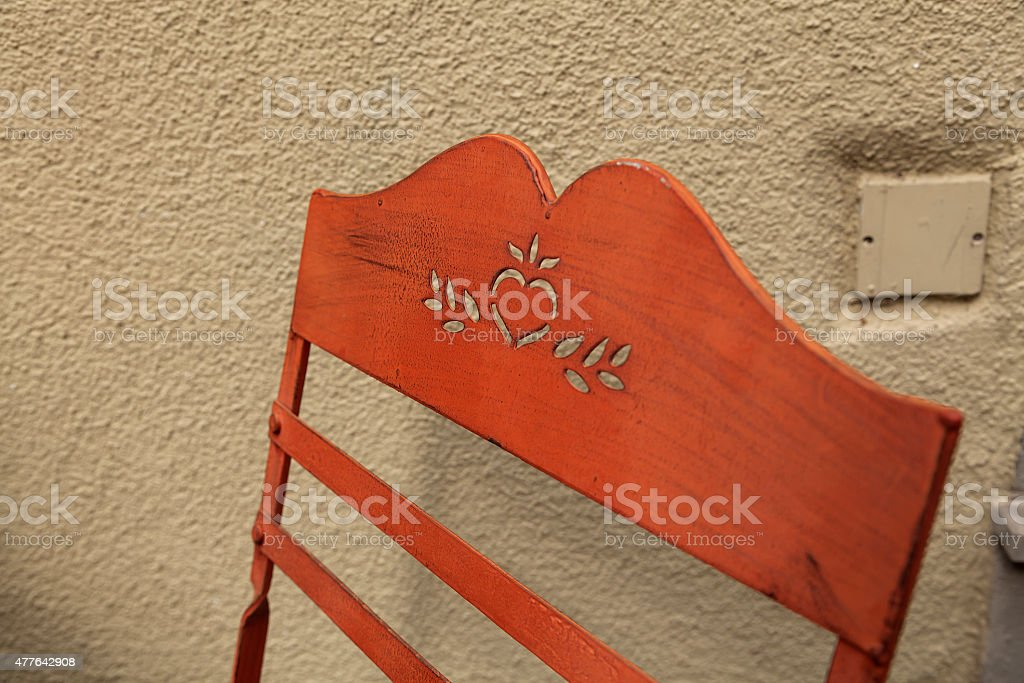 Backrest royalty-free stock photo