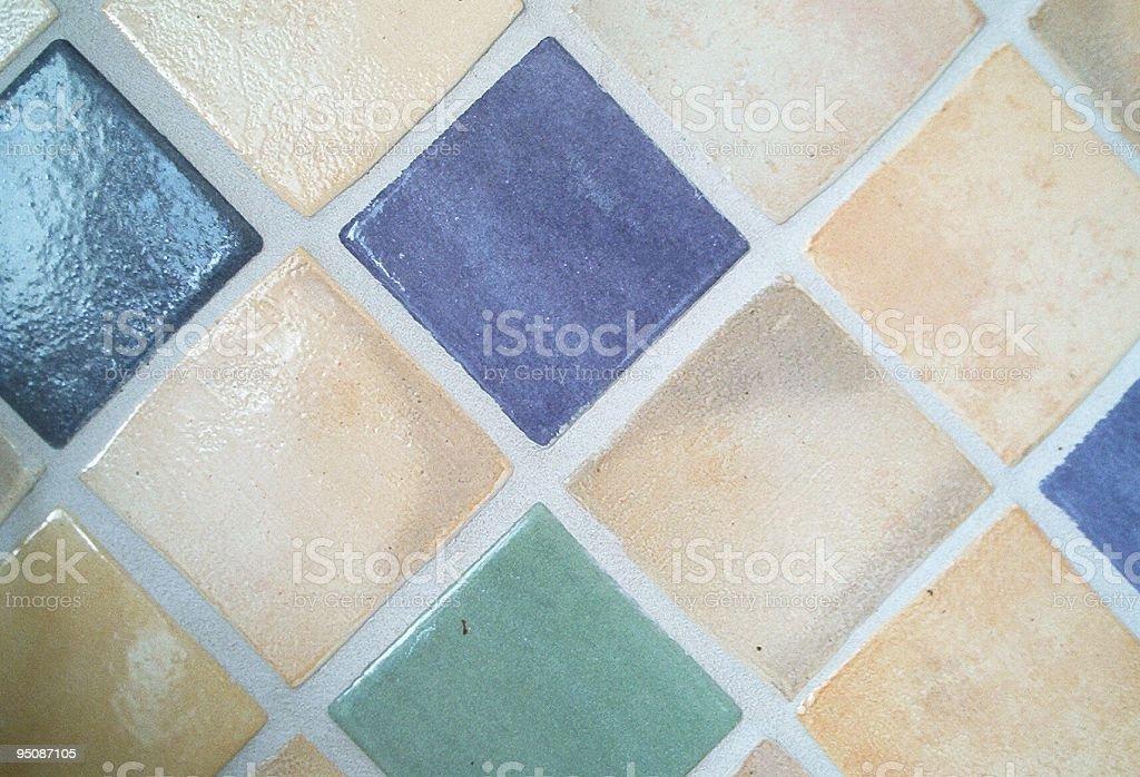 Backsplash tiles royalty-free stock photo