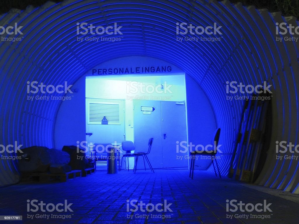 Backstage entrance royalty-free stock photo