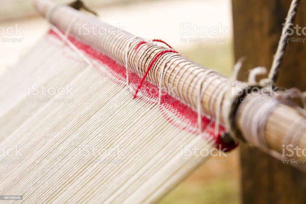 Backstrap Loom stock photo
