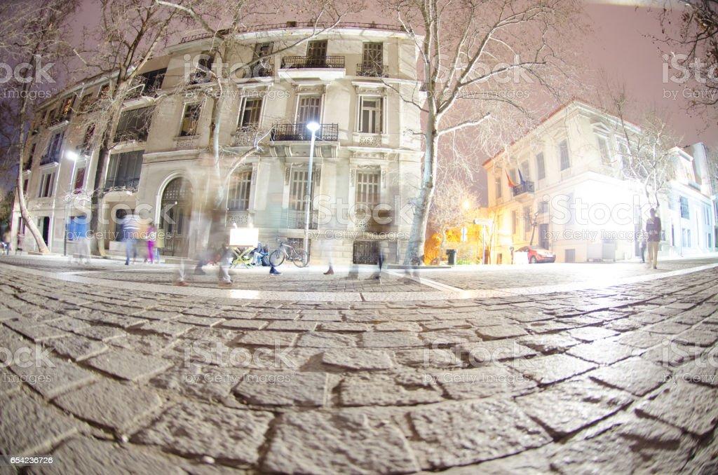 Backstreet athens Greece stock photo