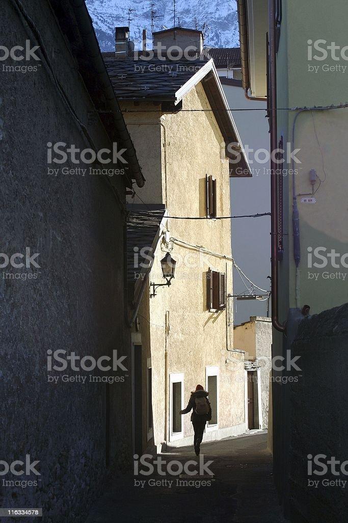 backstreet royalty-free stock photo