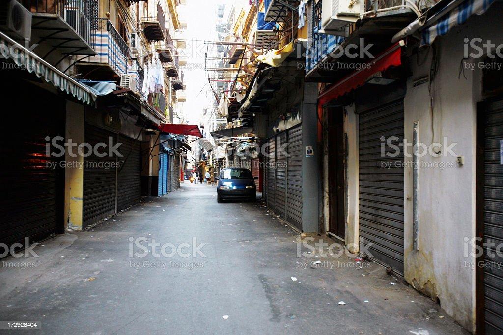 backstreet stock photo