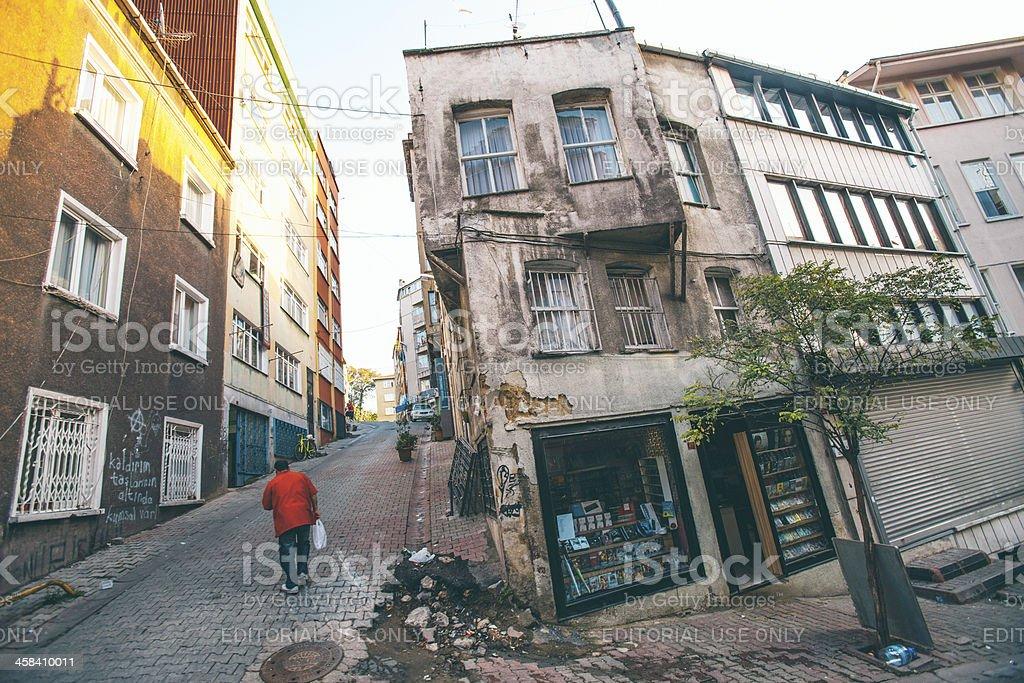 Backstreet scene. royalty-free stock photo