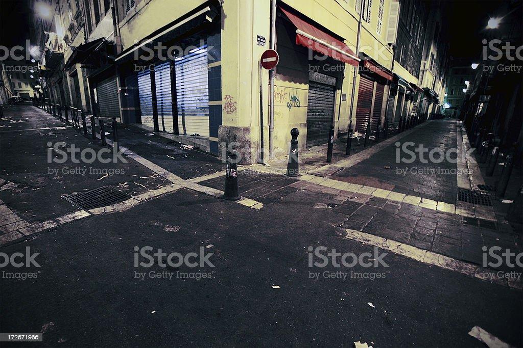 backstreets corners royalty-free stock photo