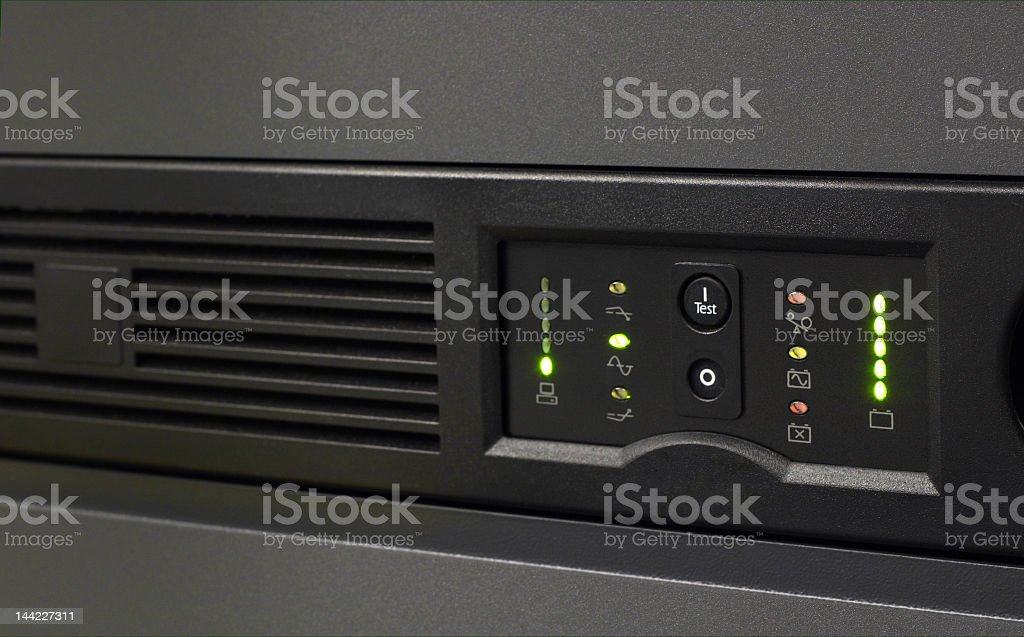 Backup Power stock photo