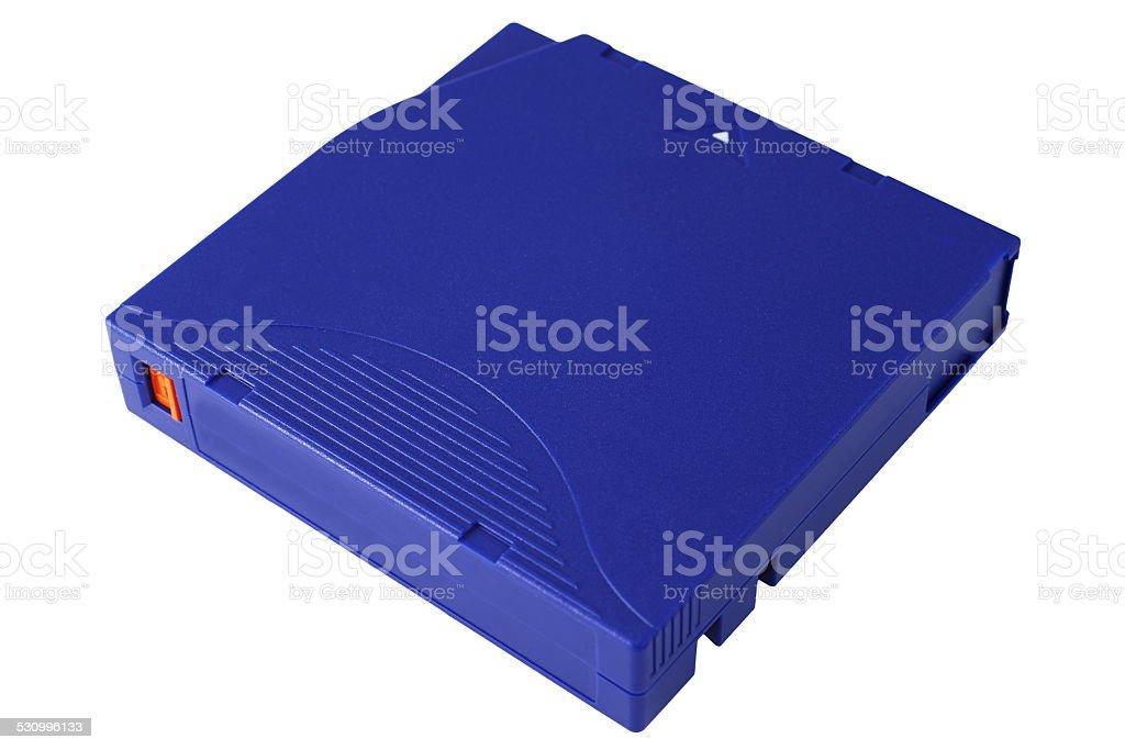 Backup tape. Color Image stock photo