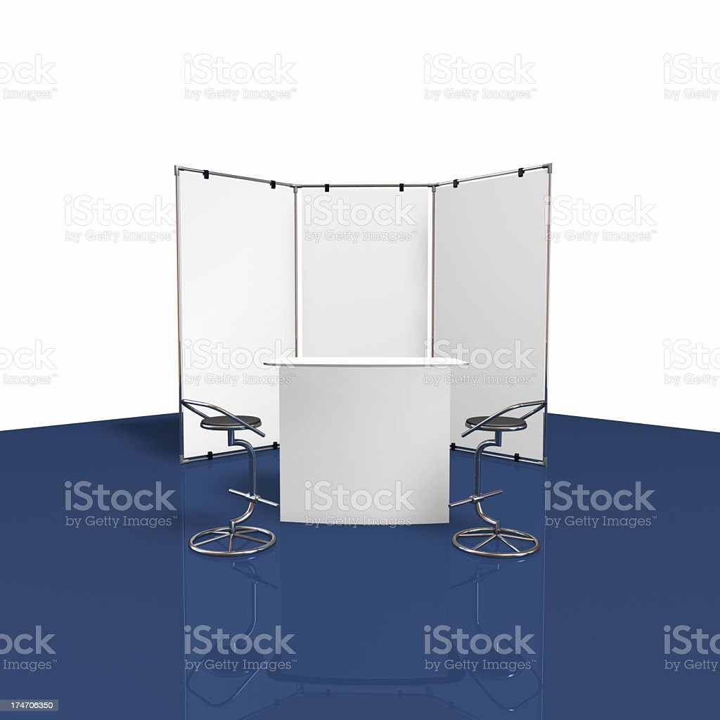 backwall fair display royalty-free stock photo