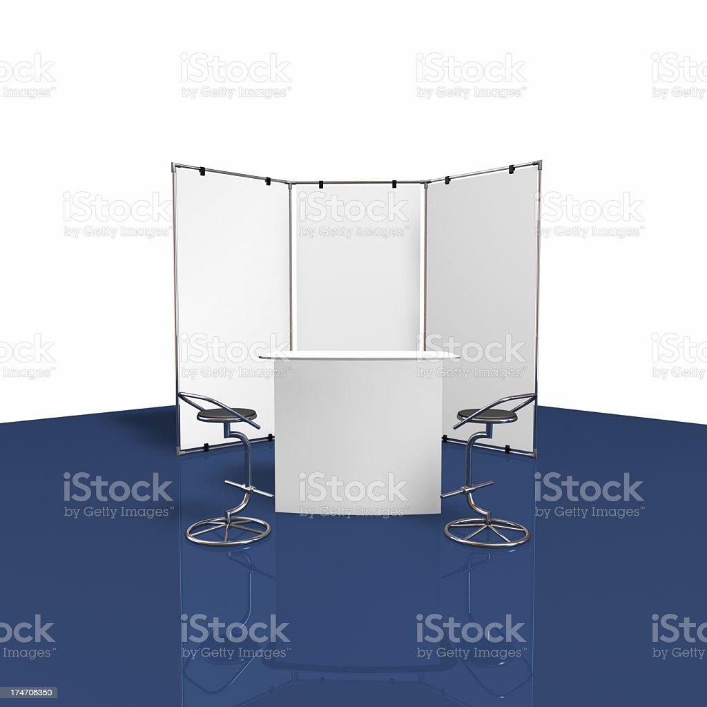 backwall fair display stock photo