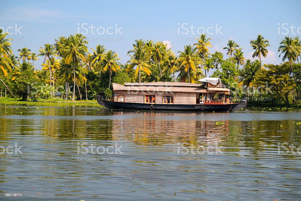 Backwaters royalty-free stock photo