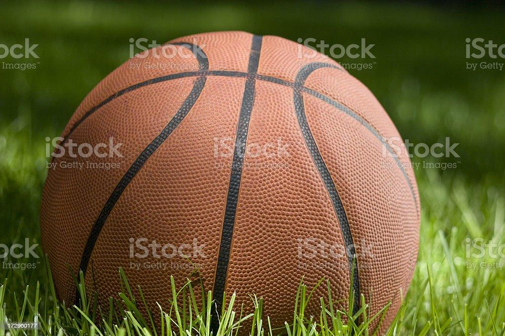 backyard ball stock photo